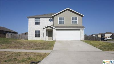 Killeen Single Family Home For Sale: 3705 Latigo