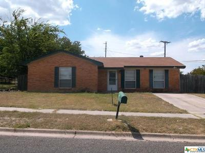 Copperas Cove Single Family Home For Sale: 1402 Bluffdale Street