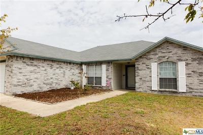Killeen TX Single Family Home For Sale: $128,700
