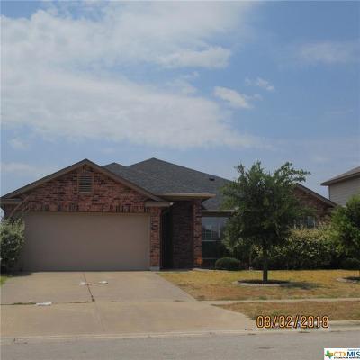 Killeen TX Single Family Home For Sale: $123,000