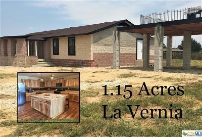 La Vernia Single Family Home For Sale: 284 County Road 341