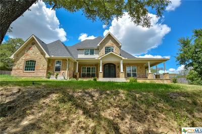 Belton Single Family Home For Sale: 3205a River Place