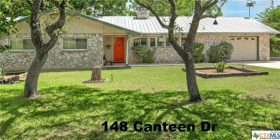 Canyon Lake TX Single Family Home For Sale: $280,000