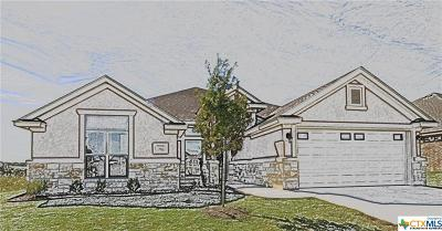 Killeen Single Family Home For Sale: 7806 Zircon Drive