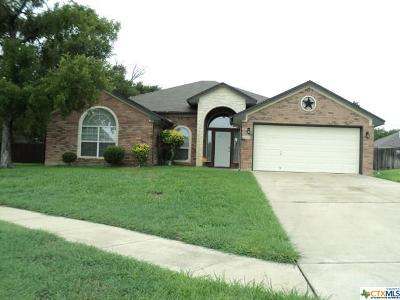 Killeen TX Single Family Home For Sale: $190,000