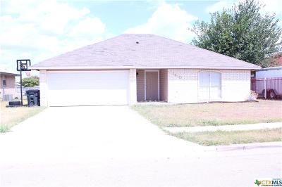 Killeen Single Family Home For Sale: 1410 Windsor