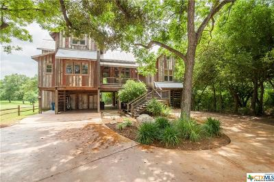 New Braunfels Single Family Home For Sale: 1210 Sleepy Hollow Lane
