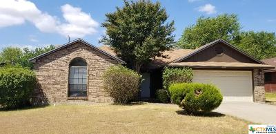 Killeen Single Family Home For Sale: 4406 Brian Drive