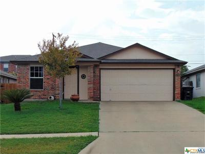 Killeen Single Family Home For Sale: 1213 Fox Creek Drive