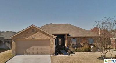 Copperas Cove Single Family Home For Sale: 2507 Merle Drive