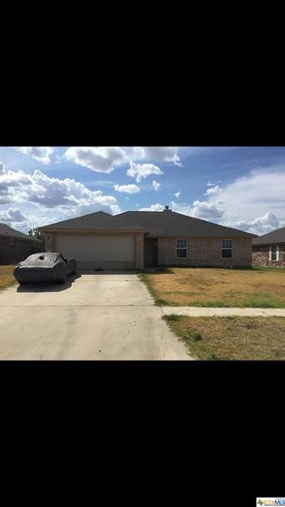 Killeen TX Single Family Home For Sale: $127,000