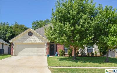 Harker Heights Single Family Home For Sale: 1420 Loblolly Drive