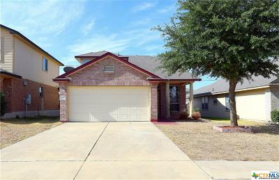 Killeen Single Family Home For Sale: 4600 Donegal Bay Court