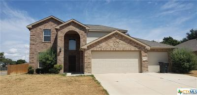 Killeen Single Family Home For Sale: 6201 Serpentine