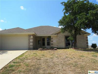 Copperas Cove Single Family Home For Sale: 3513 Jacob