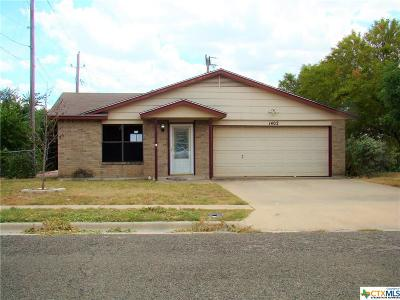 Copperas Cove Single Family Home For Sale: 1402 Miranda Avenue