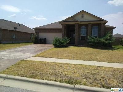 Killeen Single Family Home For Sale: 4902 Green Meadow