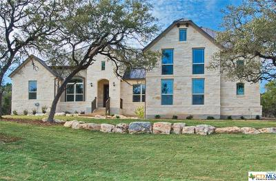 New Braunfels TX Single Family Home For Sale: $554,340