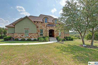 New Braunfels Single Family Home For Sale: 1617 Angolo