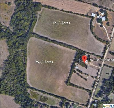Temple Residential Lots & Land For Sale: Tbd Gun Club Road