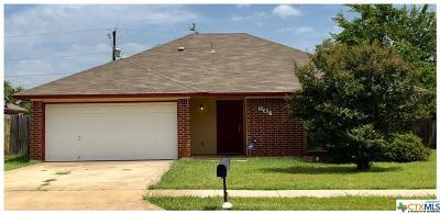 Killeen TX Single Family Home For Sale: $92,500