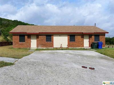 Copperas Cove Single Family Home For Sale: 911 N 7th Street #A-B