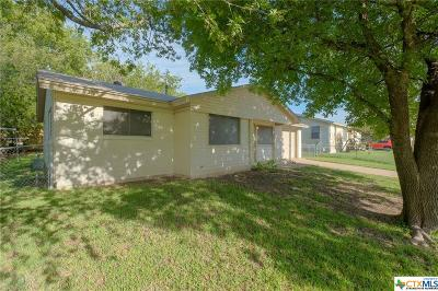 Copperas Cove Single Family Home For Sale: 1204 S 19th Street