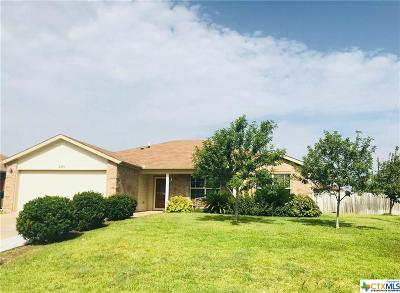 Belton Single Family Home For Sale: 2100 Lincoln