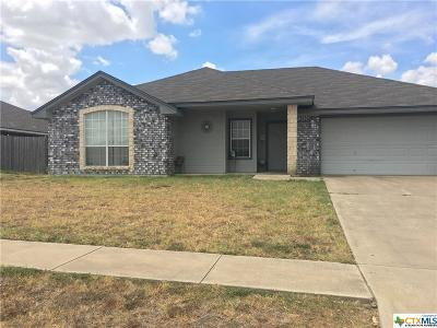 Killeen Single Family Home For Sale: 4304 Telluride Drive