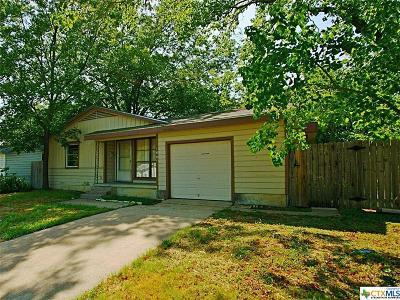 Killeen TX Single Family Home For Sale: $67,000
