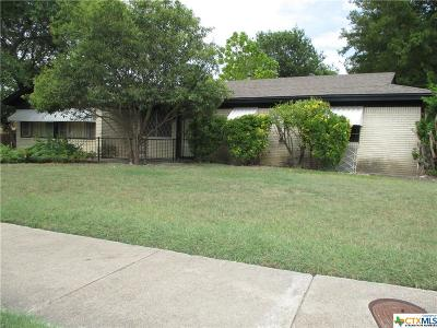 Copperas Cove Single Family Home For Sale: 201 Carothers Street