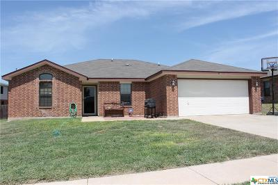 Copperas Cove Single Family Home For Sale: 1304 Travis Circle