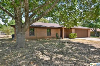 Temple TX Single Family Home Pending: $159,900