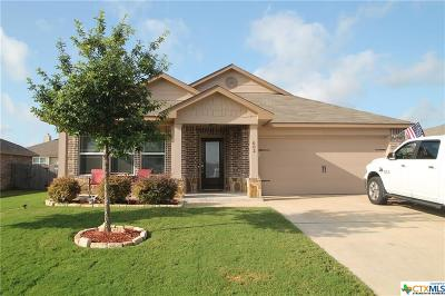 Killeen TX Single Family Home For Sale: $155,000