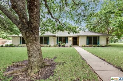 Temple Single Family Home For Sale: 2806 Pecan