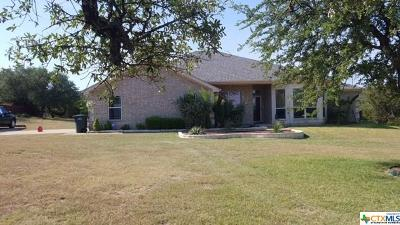 Copperas Cove Single Family Home For Sale: 2824 Big Divide Road