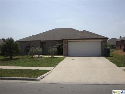 Killeen TX Single Family Home For Sale: $117,900
