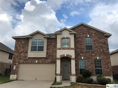Killeen Single Family Home For Sale: 9004 Ashlyn