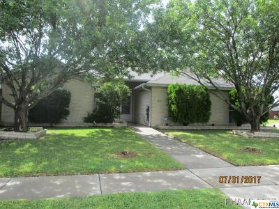 Killeen Single Family Home For Sale: 4410 Ethel Avenue