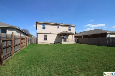 Killeen Single Family Home For Sale: 6512 Taree Loop