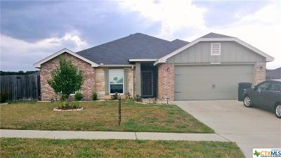 Killeen  Single Family Home For Sale: 2511 Tarrant County Drive