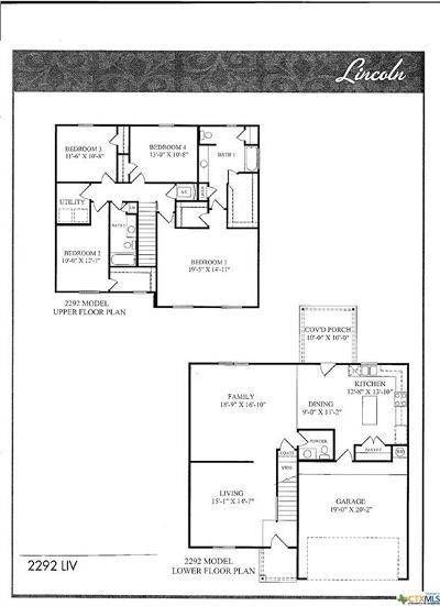Killeen Single Family Home For Sale: 2203 Sea Eagle Drive