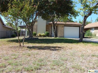Killeen Single Family Home For Sale: 2202 Carousel