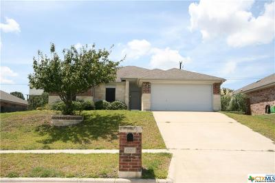Copperas Cove Single Family Home For Sale: 1707 Indian Camp Trail