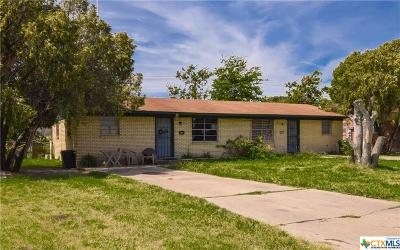 Harker Heights Multi Family Home For Sale: 218 E Valley