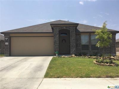 Killeen Single Family Home For Sale: 1408 Shims