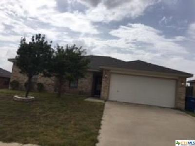 Copperas Cove Single Family Home For Sale: 1316 Marlee Circle