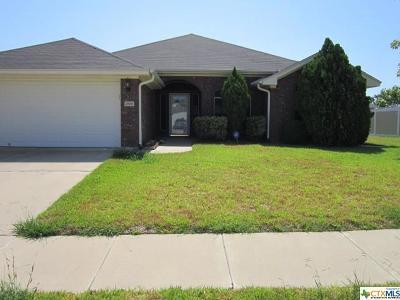 Killeen Single Family Home For Sale: 2806 Lavender Lane