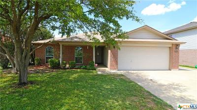 Killeen Single Family Home For Sale: 5811 Montrose Drive