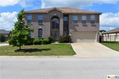 Harker Heights Single Family Home For Sale: 2616 Moosehide Drive